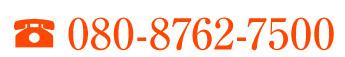 電話080-8762-7500